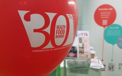 30 years of Health Food Business magazine
