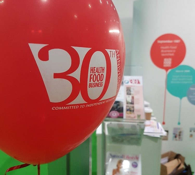 30 years of Health Food Business magazine